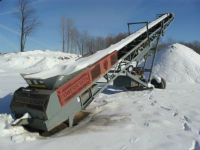 "M85 Powerscreen 60"" conveyor"