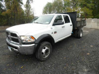 2012 Dodge Ram 5500 4x4 Flatbed Utility Truck